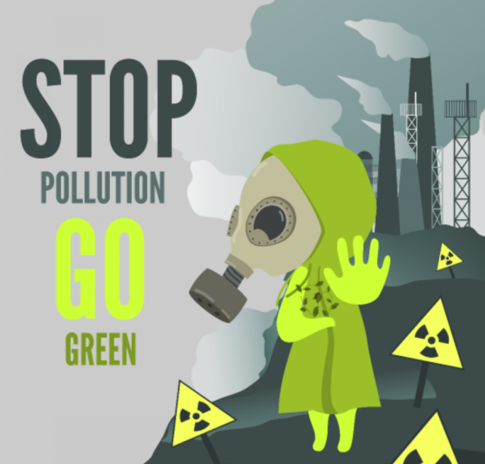 STOP POLLUTION, come salvare il mondo