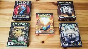 Deckscape, un Escape room tascabile